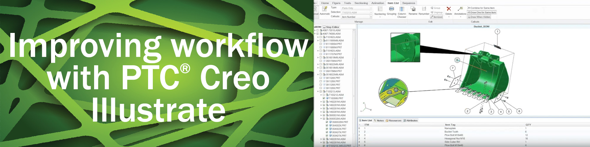 Improve workflow with Creo Illustrate